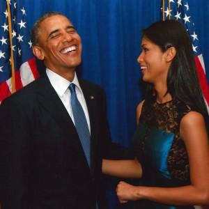 Obama e Geena Rocero convegno LGBT